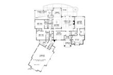 Country Floor Plan - Main Floor Plan Plan #929-1006
