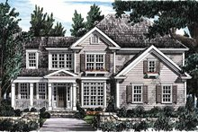 Home Plan - Classical Exterior - Front Elevation Plan #927-655