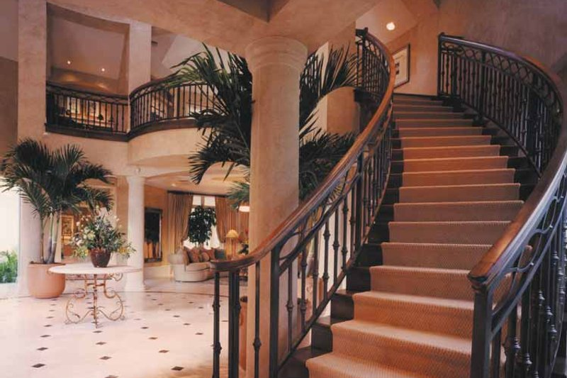 Mediterranean Interior - Entry Plan #930-256 - Houseplans.com