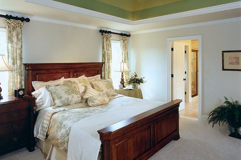 Country Interior - Master Bedroom Plan #927-654 - Houseplans.com
