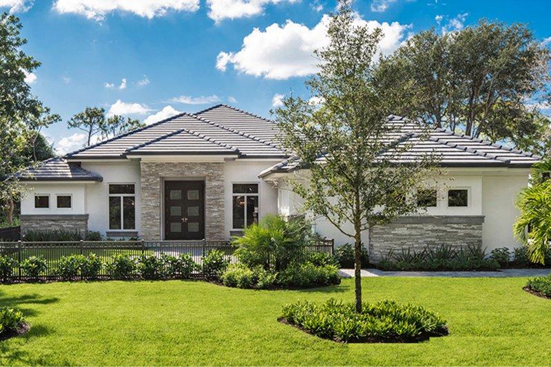 House Plan Design - Ranch Exterior - Front Elevation Plan #1017-164