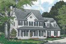 House Plan Design - Classical Exterior - Front Elevation Plan #453-129