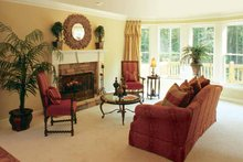 House Design - Country Interior - Family Room Plan #927-892