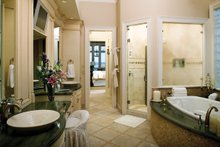 Mediterranean Interior - Master Bathroom Plan #929-900