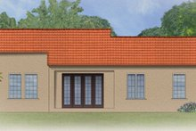 Home Plan - Mediterranean Exterior - Rear Elevation Plan #1058-4