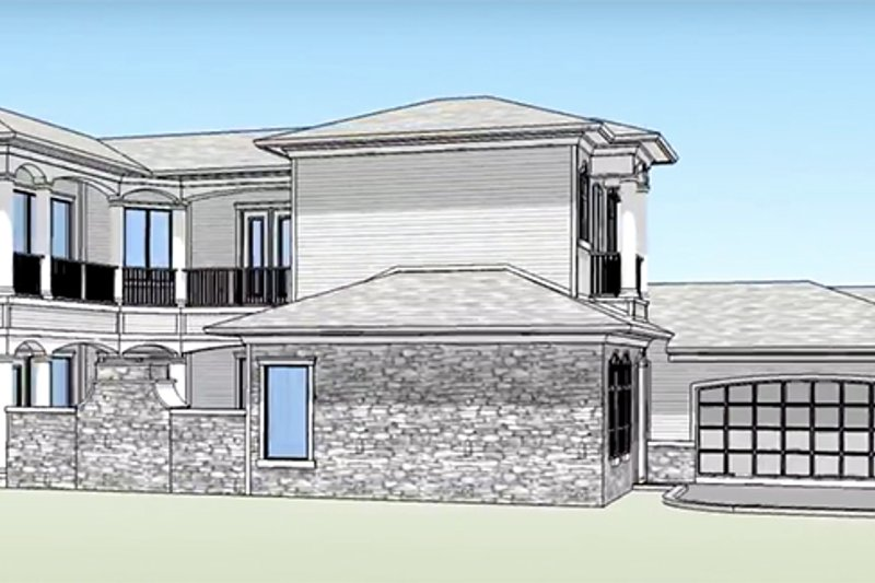 Country Exterior - Other Elevation Plan #938-15 - Houseplans.com