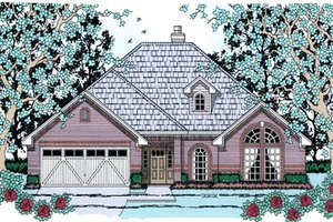 House Design - Traditional Exterior - Front Elevation Plan #42-389