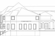 Dream House Plan - Classical Exterior - Rear Elevation Plan #117-146