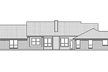 Home Plan - Ranch Exterior - Rear Elevation Plan #84-459
