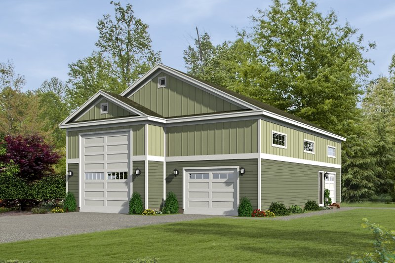 Dream House Plan - Country Exterior - Front Elevation Plan #932-161