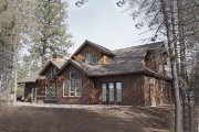 Craftsman Style House Plan - 3 Beds 3.5 Baths 2360 Sq/Ft Plan #892-13 Exterior - Rear Elevation