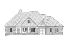 Architectural House Design - Front Elevation