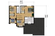 Contemporary Style House Plan - 4 Beds 2 Baths 2145 Sq/Ft Plan #25-4282 Floor Plan - Upper Floor