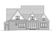 European Style House Plan - 4 Beds 3.5 Baths 3747 Sq/Ft Plan #413-814