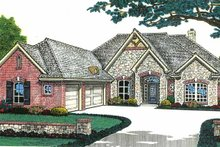 Home Plan - Country Exterior - Front Elevation Plan #310-1199