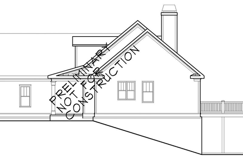 Colonial Exterior - Other Elevation Plan #927-943 - Houseplans.com