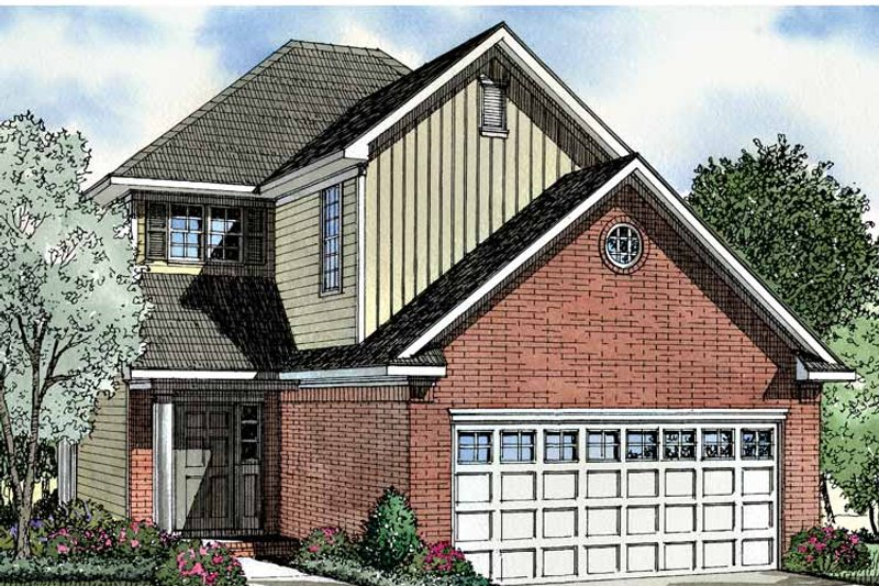 Traditional Exterior - Front Elevation Plan #17-2996 - Houseplans.com