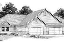Traditional Exterior - Front Elevation Plan #70-748