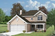 Classical Style House Plan - 4 Beds 2.5 Baths 2046 Sq/Ft Plan #57-335
