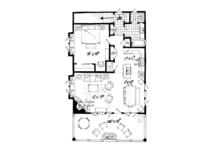 Country Floor Plan - Main Floor Plan Plan #942-20