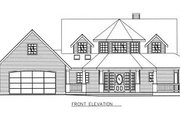 Bungalow Style House Plan - 3 Beds 2.5 Baths 1946 Sq/Ft Plan #117-539 Exterior - Other Elevation