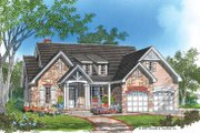 Ranch Style House Plan - 3 Beds 2 Baths 1857 Sq/Ft Plan #929-645 Exterior - Front Elevation
