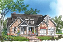 Ranch Exterior - Front Elevation Plan #929-645