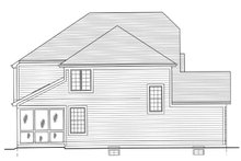 Country Exterior - Other Elevation Plan #46-818