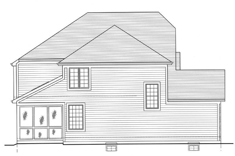 Country Exterior - Other Elevation Plan #46-818 - Houseplans.com