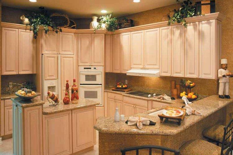 Mediterranean Interior - Kitchen Plan #930-318 - Houseplans.com