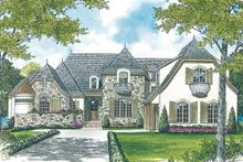 Home Plan - European Exterior - Front Elevation Plan #453-404