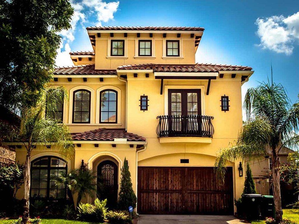 Mediterranean Style House Plan 3 Beds 4 5 Baths 3857 Sq Ft