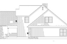 House Plan Design - Traditional Exterior - Other Elevation Plan #17-2779