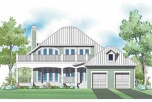 House Plan Design - Traditional Exterior - Rear Elevation Plan #930-399