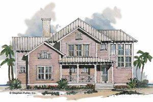 Craftsman Exterior - Front Elevation Plan #429-194