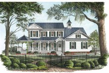 Victorian Exterior - Front Elevation Plan #137-326