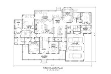 Country Floor Plan - Main Floor Plan Plan #1054-73