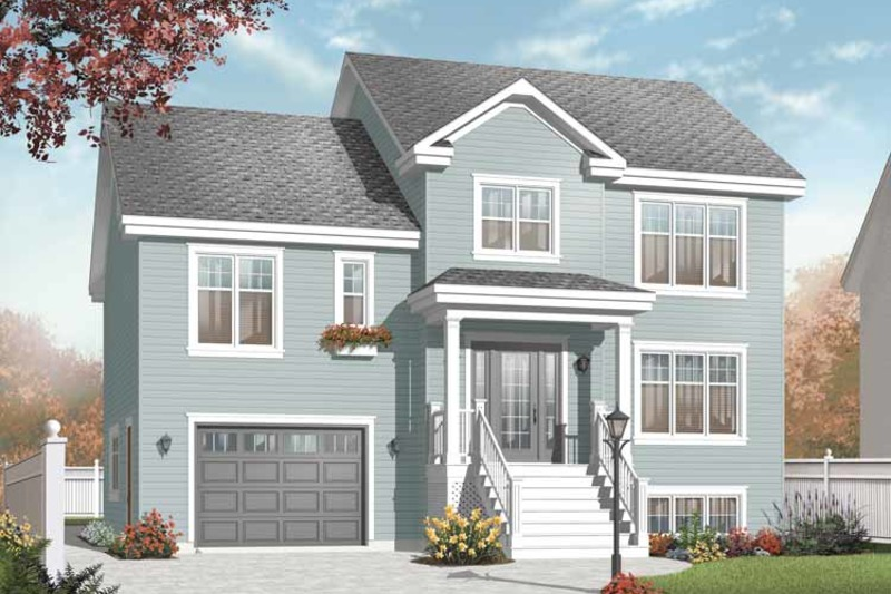 Traditional Exterior - Front Elevation Plan #23-2391 - Houseplans.com