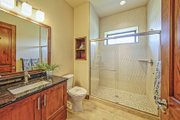 Adobe / Southwestern Style House Plan - 3 Beds 3 Baths 5290 Sq/Ft Plan #451-25 Interior - Bathroom