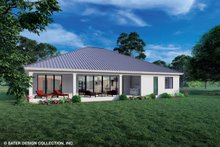 Architectural House Design - Modern Exterior - Rear Elevation Plan #930-528