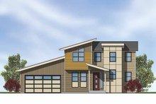 House Plan Design - Contemporary Exterior - Front Elevation Plan #569-4