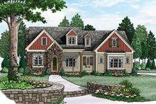 House Plan Design - European Exterior - Front Elevation Plan #927-974