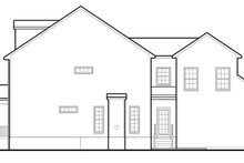 Colonial Exterior - Other Elevation Plan #1053-73