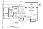 European Style House Plan - 4 Beds 3.5 Baths 2426 Sq/Ft Plan #5-288 Floor Plan - Main Floor Plan