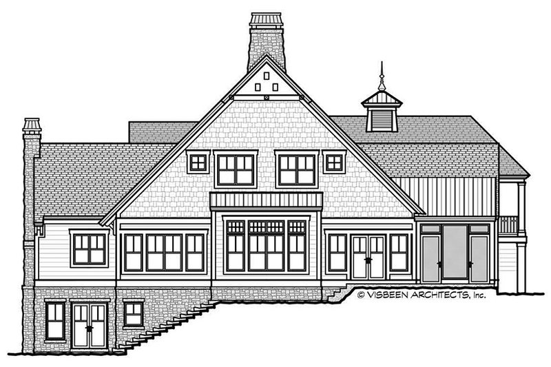 Craftsman Exterior - Other Elevation Plan #928-280 - Houseplans.com