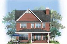 Traditional Exterior - Rear Elevation Plan #929-748