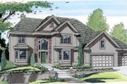 European Style House Plan - 3 Beds 2.5 Baths 2632 Sq/Ft Plan #312-465