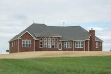 Dream House Plan - Country Exterior - Rear Elevation Plan #927-653