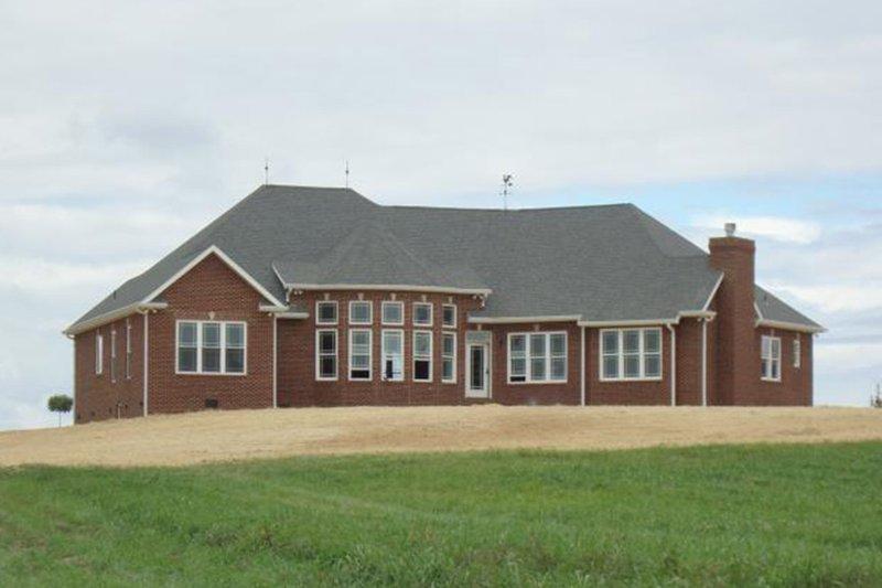 Country Exterior - Rear Elevation Plan #927-653 - Houseplans.com