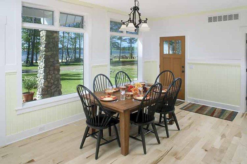 Craftsman Interior - Dining Room Plan #928-90 - Houseplans.com
